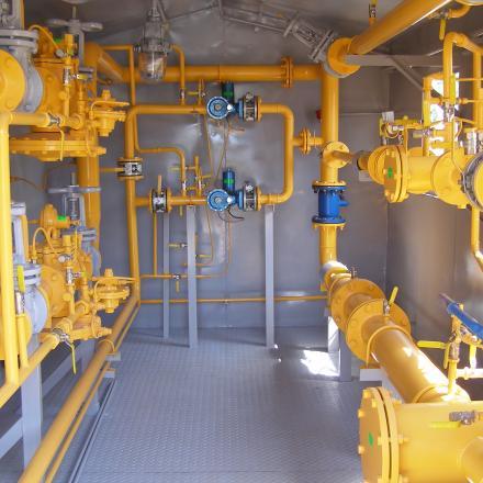 Пункт газорегуляторный ПГБ-07-2У1-ХЛ1