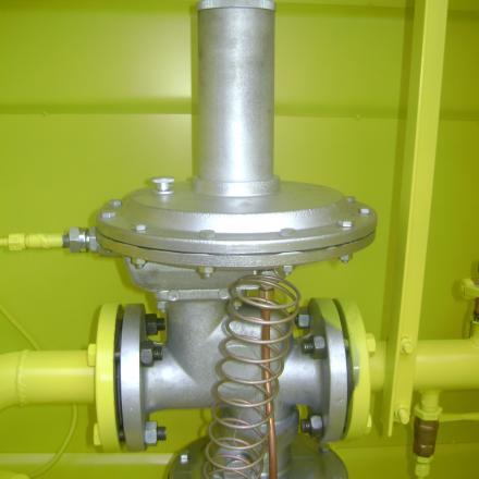 Газорегуляторный пункт ГРПШ-10МС