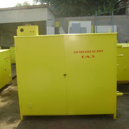 ГСГО-100 - газорегуляторный пункт шкафной с газовым обогревом