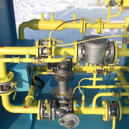Газорегуляторный пункт ГРПШ-07-1У1 с обогревом