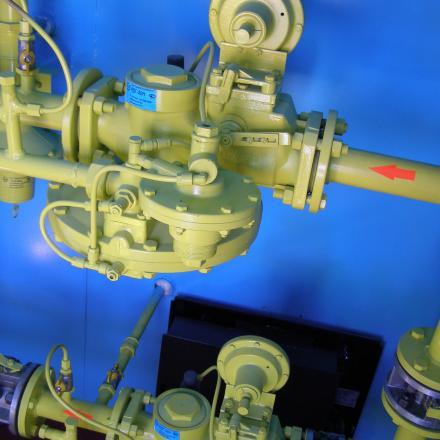 Пункт газорегуляторный ПГБ-13-2ВУ1 (конвектор и кондиционер)
