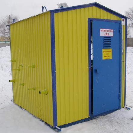 Пункт газорегуляторный ПГБ-16-1ВУ1 с АОГВ