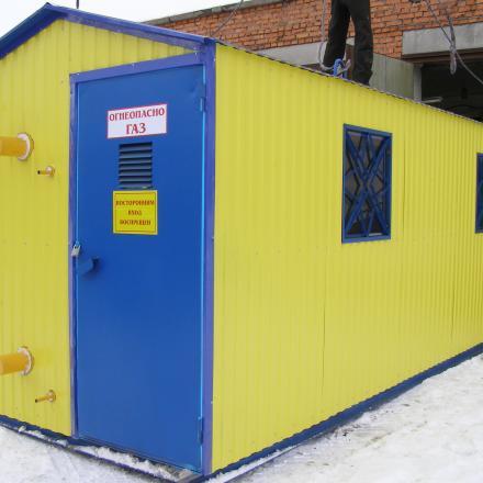 Пункт газорегуляторный ПГБ-100/2-ВКГ
