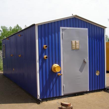 Пункт газорегуляторный ПГБ-100-СГ-СПГ